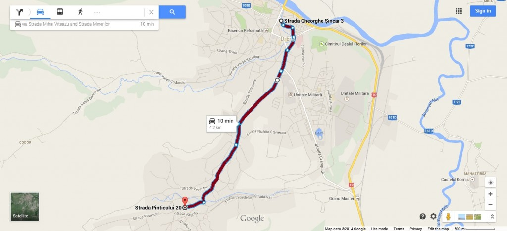 Traseu - Linia 14
